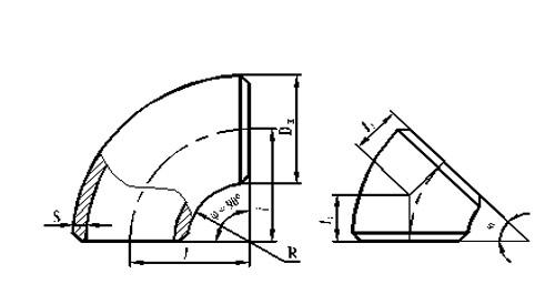 Схема отвода ОСТ 34.10.699-97