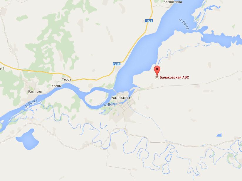 Карта Фото Балаковская